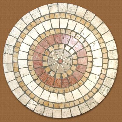 Piano in pietra sassi di Assisi